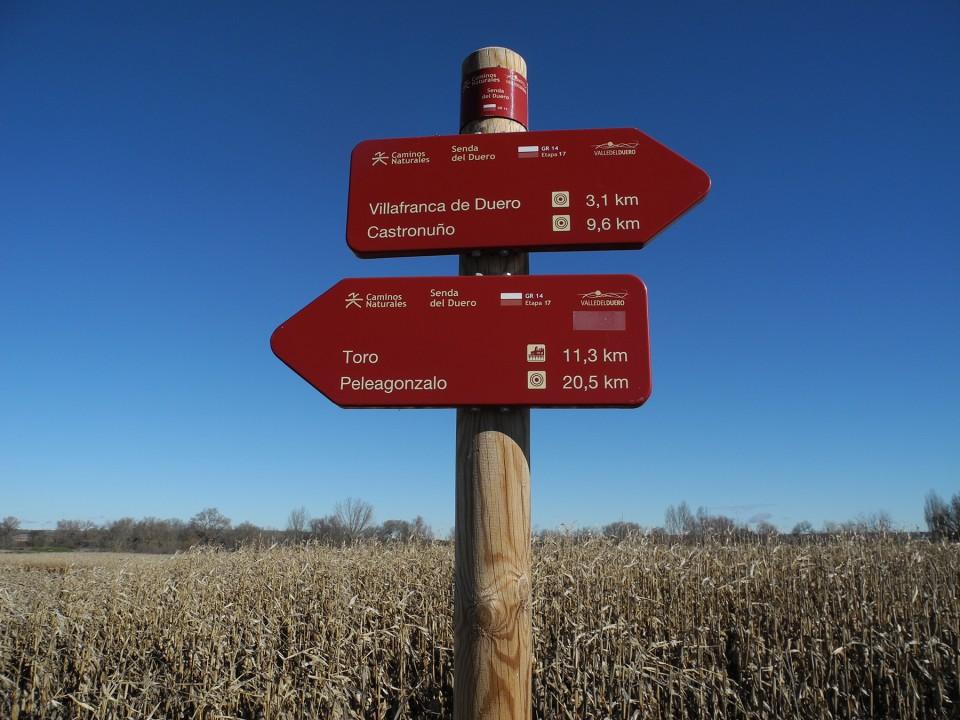 Itinerario del GR14
