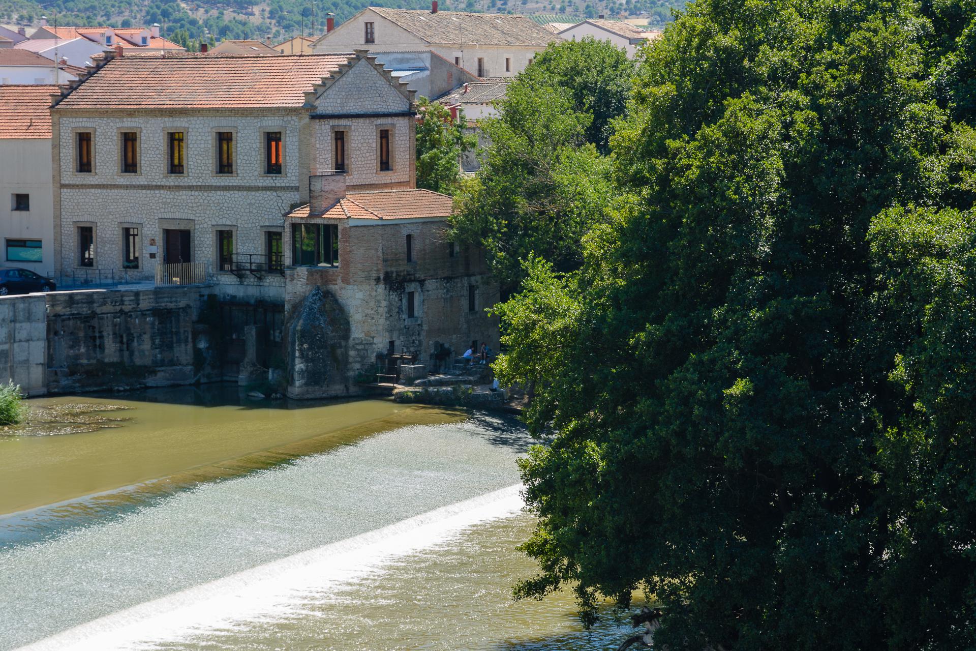 Quintanilla de Onésimo. El canal del Duero