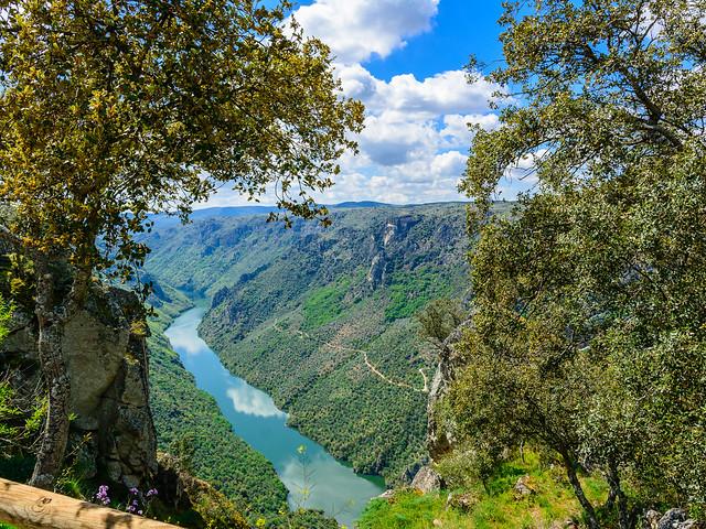 Sendero GR 14 en Salamanca: Mirador del Colagón del Tío Paco
