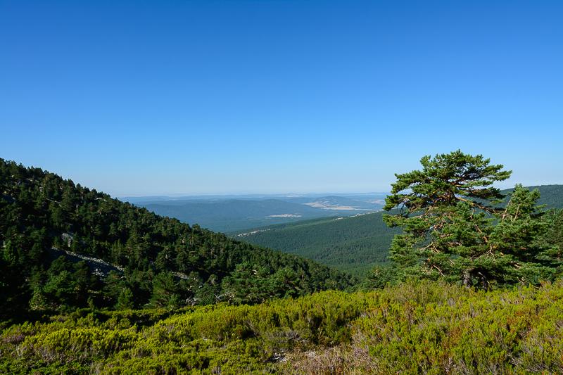 Fuentes del Duero: Vistas sobre la Sierra de Cabrejas