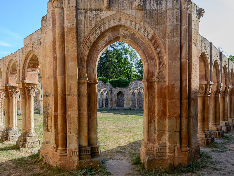 Soria: Monasterio de San Juan de Duero