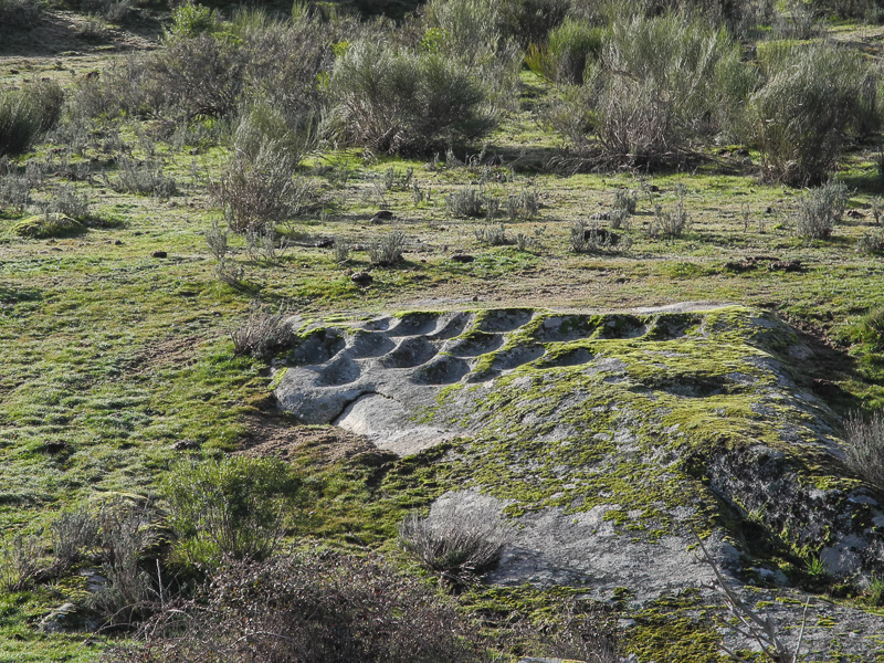 Cazoletas de la minería romana