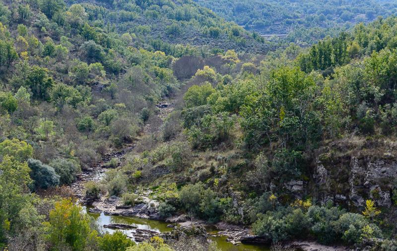 Sendero GR 14 en Salamanca: Río Uces