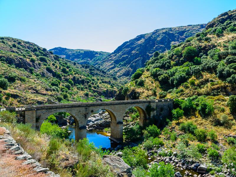 Saucelle: Puente de la Molinera